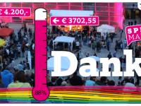 Danke! Spendenmarathon: 88%