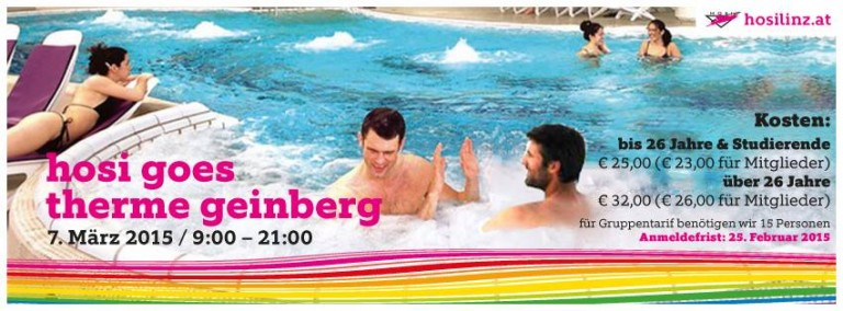 HOSI Linz goes Therme Geinberg