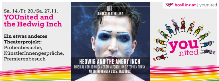 YOUnited and the Hedwig Inch – ein etwas anderes Theaterprojekt