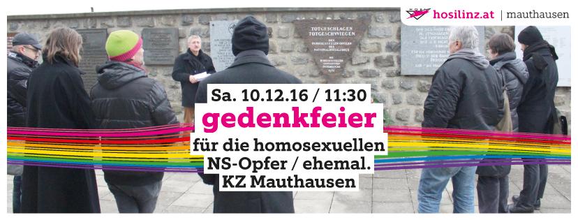 Gedenkfeier ehemal. KZ Mauthausen (Menschenrechtstag)