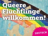 Queere Flüchtlinge willkommen