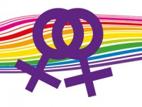 Die Lesben- und Schwulenbewegung ist lila