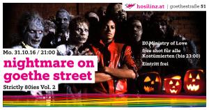Nightmare on Goethe Street @ HOSI Linz | Linz | Oberösterreich | Österreich