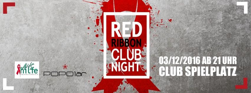 red ribbon club night 2016