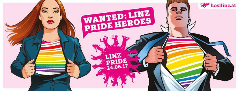 wanted: linz pride heroes