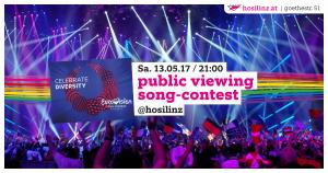 Public Viewing Song-Contest 2017 @ HOSI Linz | Linz | Oberösterreich | Österreich