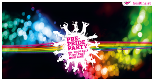 PRE-PRIDE PARTY @ HOSI Linz | Linz | Oberösterreich | Österreich