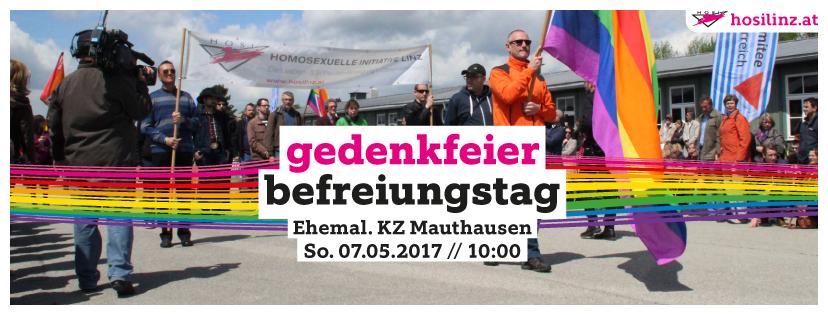 Feier zum Befreiungstag ehemal. KZ Mauthausen
