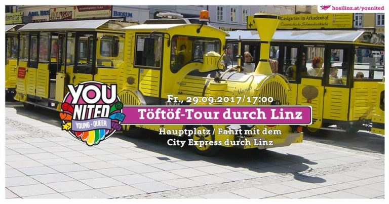 YOUnited – Töftöf-Tour durch Linz