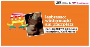 Lesbresso: Wintermarkt am Pfarrplatz & Aufwärmen im Café Meier @ Pfarrplatz | Linz | Oberösterreich | Österreich