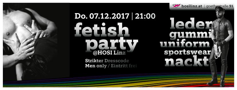 Fetishparty Dezember 2017