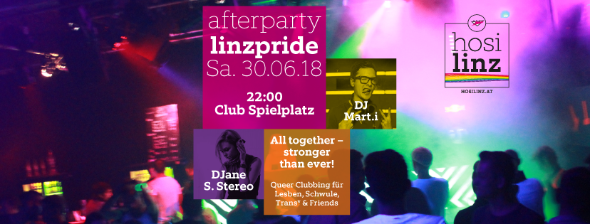 afterparty linzpride 2018