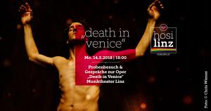 """Probenbesuch: """"Death in Venice"""" @ Musiktheater Linz"""