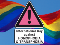 Internat. Tag gegen Homophobie, Bi-Inter- und Transphobie 2018