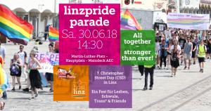 Linzpride 2018 - Parade