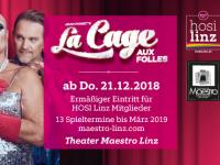 La Cage aux Folles im Theater Maestro