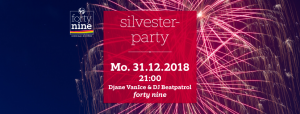 Silvesterparty 2018 @ Queer Bar forty nine