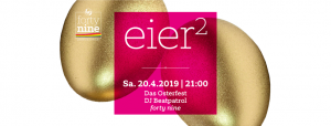 Eier² @ Queer Bar forty nine