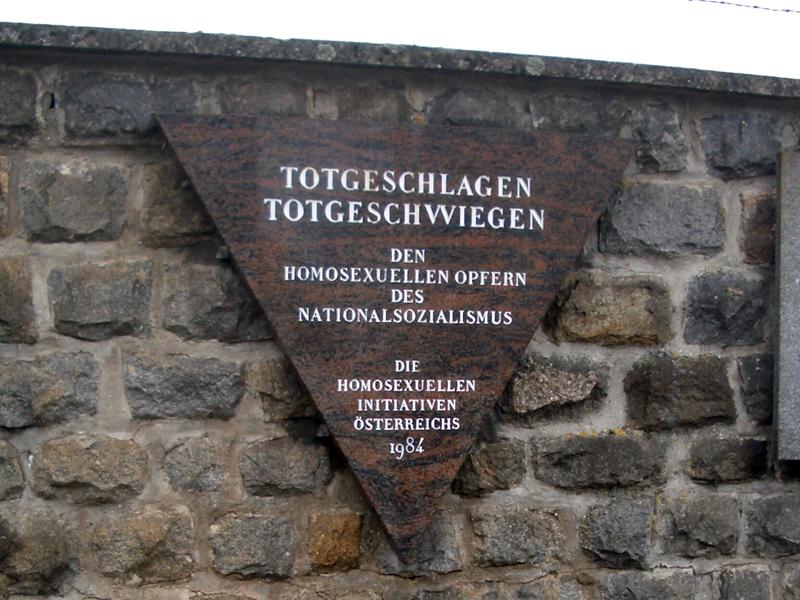 Gedenkstein für homosexuelle Opfer des NS Regimes