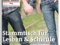 PRISMA am Titelblatt der Bezirksrundschau