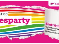 1 Jahr HOSI @ Goethestraße – die Party