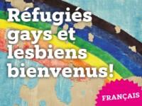 Réfugiés gays et lesbiens bienvenus