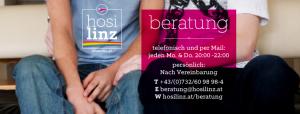 Beratung am Donnerstag @ HOSI Linz | Linz | Oberösterreich | Österreich