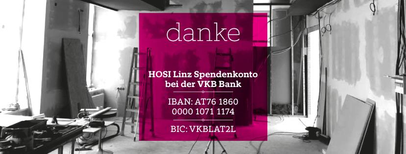 Support HOSI Linz