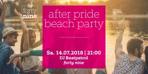 After Pride Beach Party @ Queer Bar forty nine | Linz | Oberösterreich | Österreich