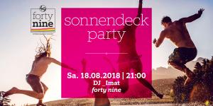 Sonnendeck Party @ Queer Bar forty nine | Linz | Oberösterreich | Österreich