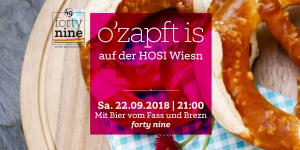 o'zapt is ... auf der HOSI Wiesn @ Queer Bar forty nine | Linz | Oberösterreich | Österreich