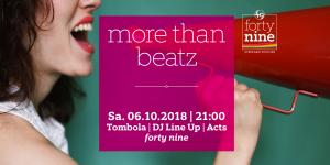 More than Beatz @ Queer Bar forty nine | Linz | Oberösterreich | Österreich