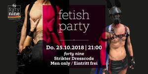 Fetish Party - Oktober @ Queer Bar forty nine | Linz | Oberösterreich | Österreich