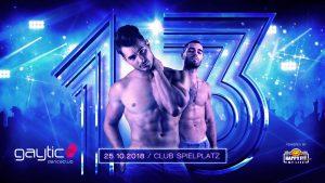 Tipp: Gaytic - 13 Years Birthday Celebration @ Club Spielplatz