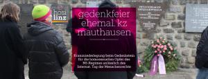 Kranzniederlegung zum Internat. Menschenrechtstag @ Ehemal. KZ Mauthausen