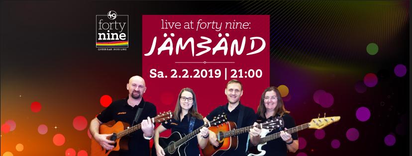 Live at forty nine: JÄMBÄND