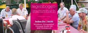 """Regenbogenstammtisch Vöcklabruck @ Wirtshaus """"Dürnauerhof"""""""
