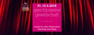 Wir haben leider geschlossen @ HOSI Linz | Linz | Oberösterreich | Österreich