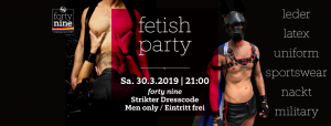 Fetish Party - Oktober @ Queer Bar forty nine | Linz | Oberösterreich | Österreich