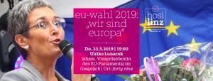 "EU-Wahl 2019: ""Wir sind Europa"" @ Queer Bar forty nine"