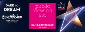 Public Viewing ESC 2019 @ Queer Bar forty nine | Linz | Oberösterreich | Österreich