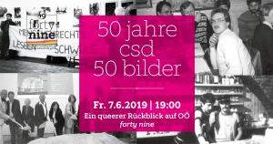 50 Bilder – 50 Jahre CSD @ Queer Bar forty nine
