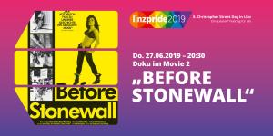 "Doku: ""Before Stonewall"" @ Programmkino Moviemento"
