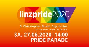 Linzpride 2020 - Pride Parade @ Musiktheater Linz - Landstraße - Hauptplatz - AEC Maindeck