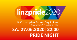 Linzpride 2020 - Pride Night @ Club Spielplatz
