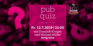 pub quiz @ Queer Bar forty nine