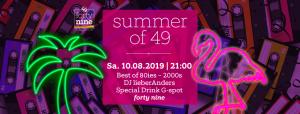 Summer of 49 @ Queer Bar forty nine