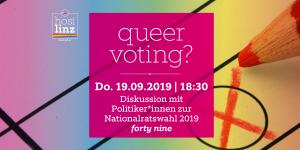 Queer Voting? @ Queer Bar forty nine