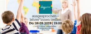 Tipp: Lehrer*innentreffen in Linz @ Queer Bar forty nine