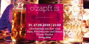 o'zapft is @ Queer Bar forty nine